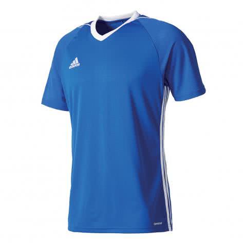 adidas Kinder Trikot Tiro 17 bold blue white Größe 128,140,164