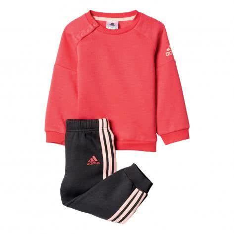 adidas Kinder Trainingsanzug Sports Crew Jogger core pink s17 haze coral s17 Größe 62,68,74,80,86