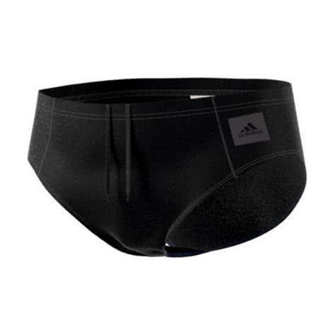 adidas Herren Badehose ESSENCE CORE SOLID TRUNK BP5391 2 black/utility black f16 | 2