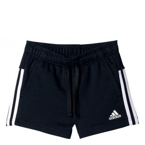 adidas Mädchen Short Essentials 3 Stripes black white Größe 116,128,158,164,170