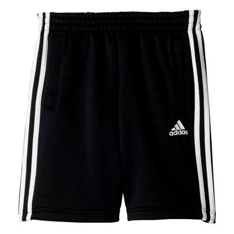 adidas Kinder Short Essentials 3 Stripes Knitted black Größe 140,164