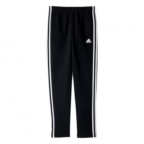 adidas Kinder Fleecehose Essentials 3 Stripes black Größe 110,116,122,140,146,152,164
