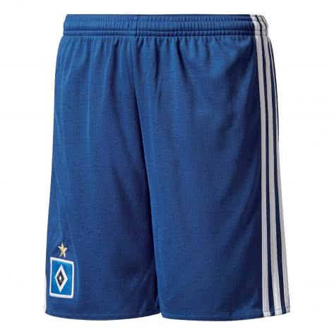 adidas Kinder Hamburger SV Away Short 17 18 mystery blue s17 white Größe 128,140,152