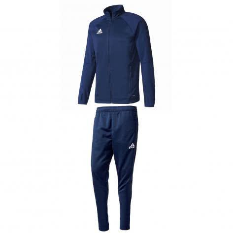 adidas Herren Trainingsanzug Tiro 17 BQ8199+BP9704 XXXL collegiate navy/white | XXXL