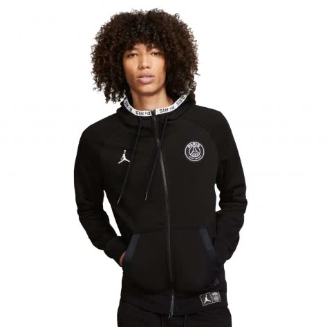 Jordan Herren Paris Saint-Germain Kapuzenjacke Black Cat Hoodie BQ8346
