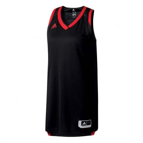 adidas Damen Basketball Trikot Crazy Explosive BQ9177 XL black/red | XL