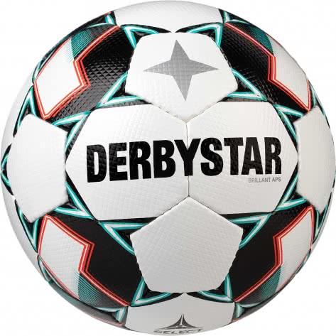 Derbystar Fussball Brillant APS 1738500142 5 Weiss/Grün/Schwarz | 5