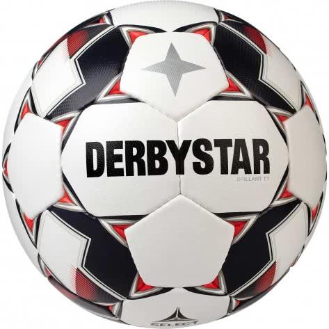 Derbystar Fussball Brillant TT AG 1139500130 5 Weiss/Rot   5
