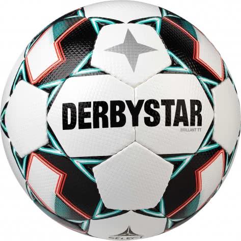 Derbystar Fussball Brillant TT 1133500142 5 Weiss/Grün/Schwarz   5