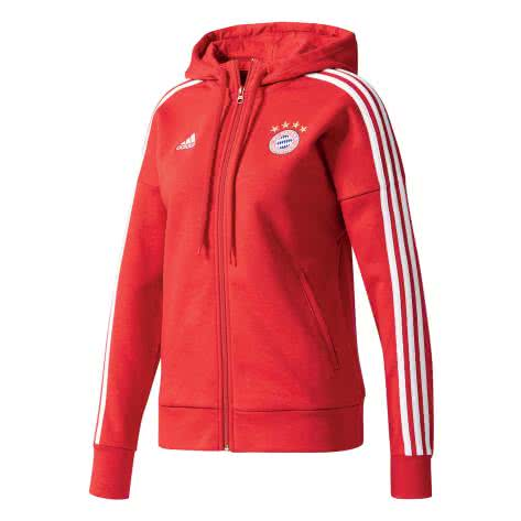 adidas Damen FC Bayern München Full Zip Hoodie ...