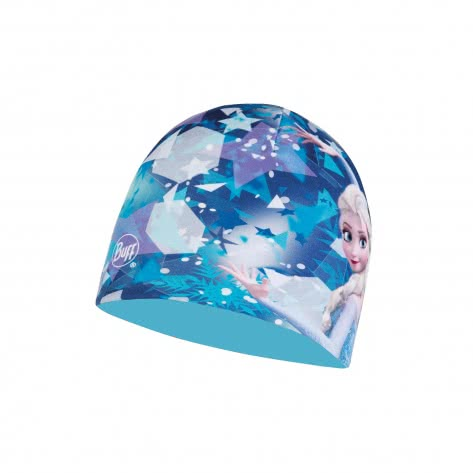 Buff Kinder Mütze Microfiber Polar Hat Licenses BUFF Elsa Blue Größe One size