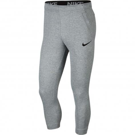 Nike Herren Trainingshose Dry Pant Tapered Fleece BV2775-063 XL Dk Grey Heather/Black | XL