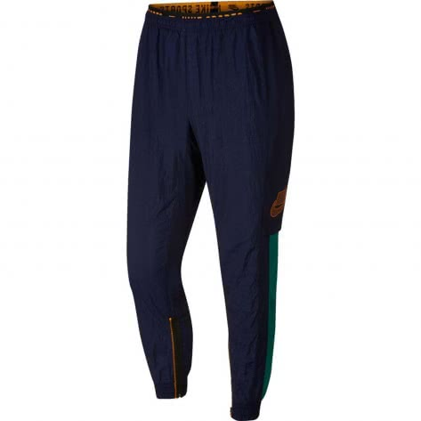 Nike Herren Trainingshose Flex Pant PX BV3268-498 XL Blackened Blue/Kumquat/Kumquat | XL