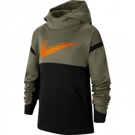 Günstig Nike Kids Jungen Therma GFX Schwarz Hose Offizielle