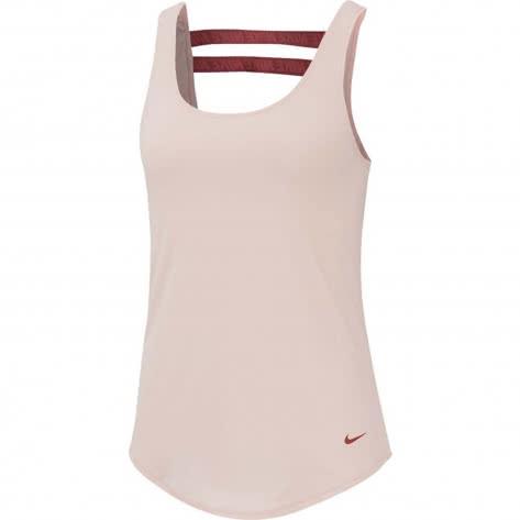 Nike Damen Tanktop Dry Tank Seasonal Essential Elastika BV4416-682 XL Echo Pink/Light Redwood | XL