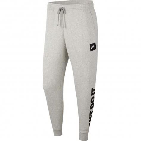 Nike Herren Trainingshose JDI Fleece Pants BV5114-050 XL GREY HEATHER/BLACK | XL