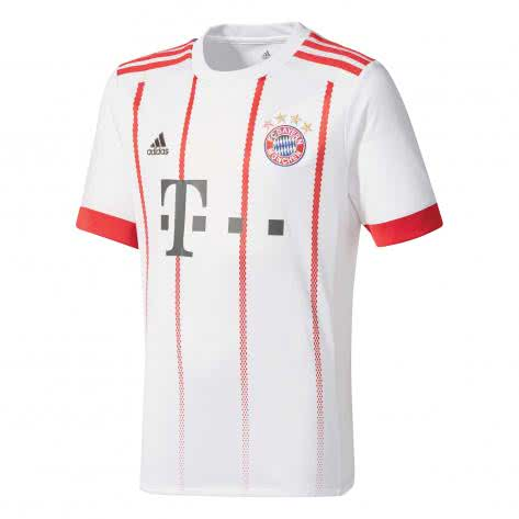 adidas Herren FC Bayern München UCL Trikot 17/18 CD6588 XS white/fcb true red | XS