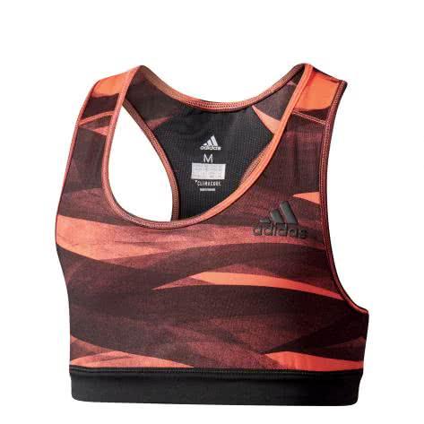 adidas Mädchen Sport BH Training Bra easy coral s17 black Größe 128,140,152,164,170