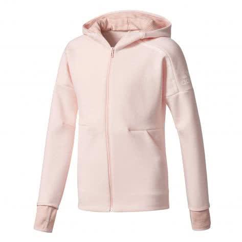 adidas Mädchen Hoodie Z.N.E. 2.0 Pulse Full Zip icey pink f17 icey pink f17 Größe 140,164