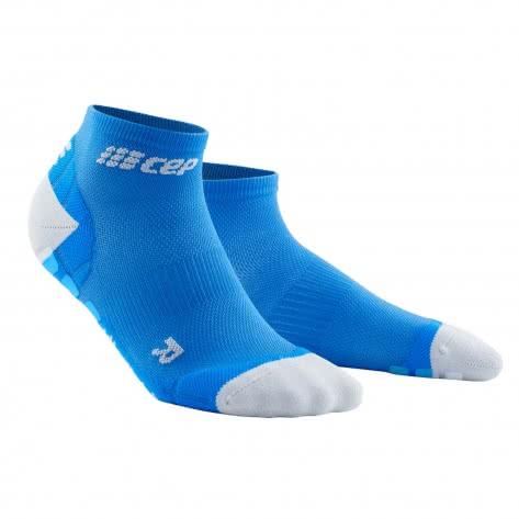 CEP Damen Laufsocken Ultralight Pro Low Cur Socks WP4AKQ 34-37 Electric Blue/Light Grey   34-37