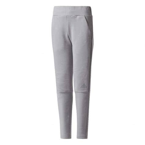 adidas Mädchen Trainingshose Z.N.E Pant 2.0 grey three f17/grey three f17 Größe: 128,140