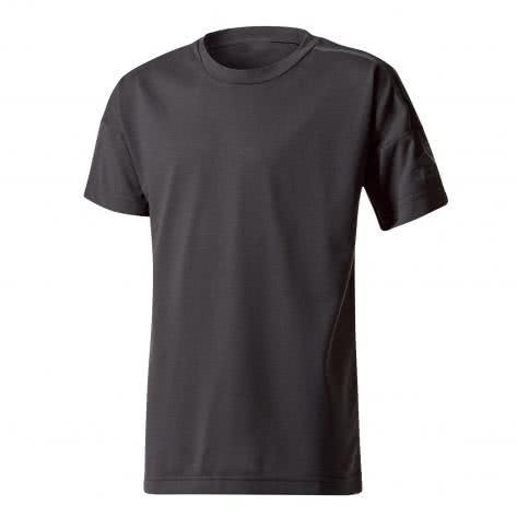 adidas Jungen T-Shirt ZNE Tee black Größe 128