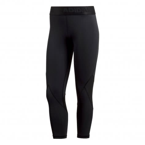 adidas Damen 3/4 Tight Alphaskin Sport 3/4 Tight CF6556 XXS Black | XXS