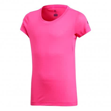 adidas Mädchen Trainingsshirt Training Prime Tee real pink s18 Größe 140