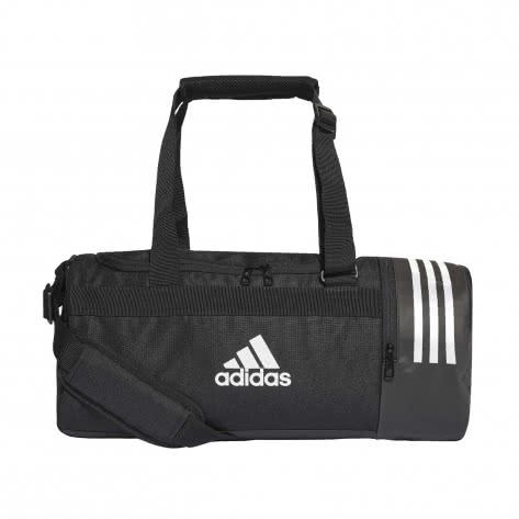 adidas Sporttasche Convertible 3S Duffel Bag CG1532 S black/white/white | S