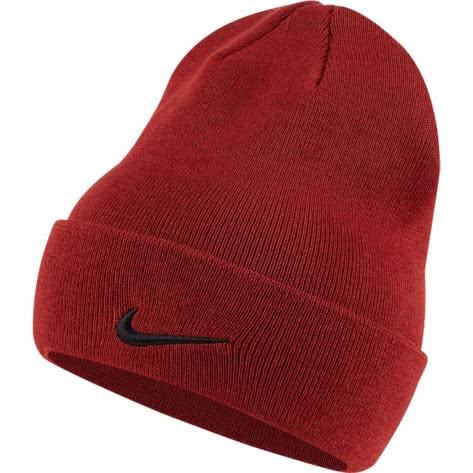 Nike Unisex Mütze Cuffed Utility Beanie CI2968-642 Dune Red | One size