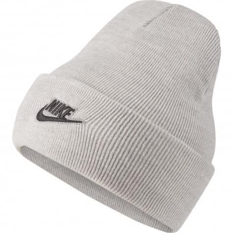 Nike Unisex Mütze Cuffed Beanie Utility CI3233-050 Grey Heather   One size