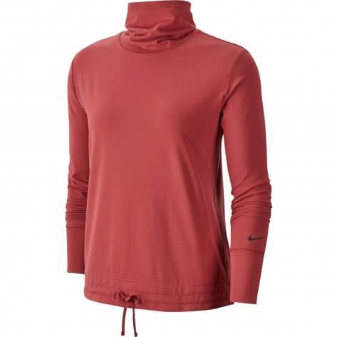 Nike Damen Langarmshirt Yoga Funnel Coverup CJ0153