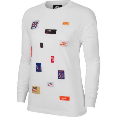Nike Damen Langarmshirt NSW ICN Clsh LS Top CJ2038