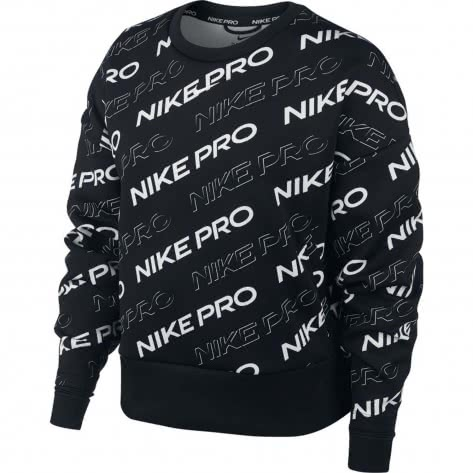 Nike Damen Pullover Pro Fleece Crew CJ3588