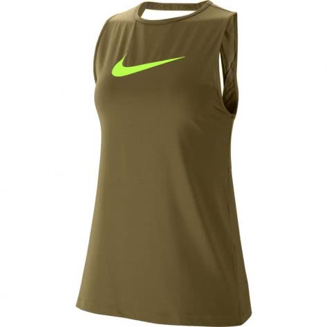 Nike Damen Top Pro Essential Swoosh CJ3771