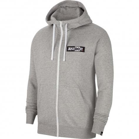 Nike Herren Kapuzenjacke NSW JDI Fleece Hoodie FZ CJ4754-063 XXL Dk Grey Heather   XXL