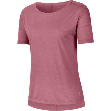 Nike Damen Top Yoga Layer SS CJ9326