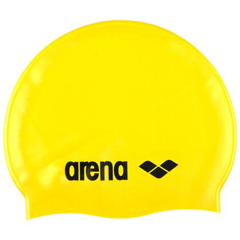 Arena Badekappe Classic Silicone 91662-35 Yellow/Black   One size