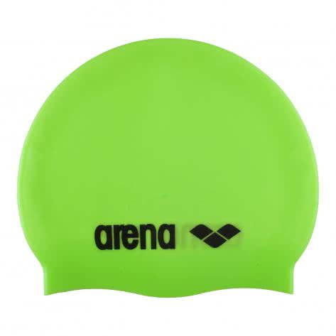 Arena Badekappe Classic Silicone 91662-65 Acid-Lime/Black | One size