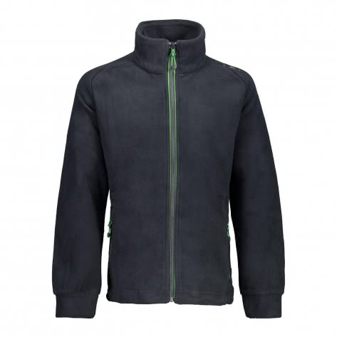 CMP Jungen Fleecejacke Boy Fleece Jacket 3H14714 Antracite Menta Größe 128
