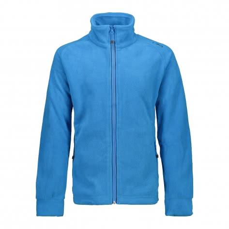 CMP Jungen Fleecejacke Boy Fleece Jacket 3H14714 Cyano Antracite Größe 104,110,116,128,140,152,164,176