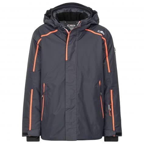CMP Jungen Skijacke Boy Jacket Snaps Hood 38W0234-U423 98 Antracite | 98