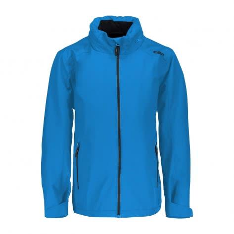 CMP Jungen Softshelljacke Boy Jacket Zip Hood 38Z1994 Cyano Größe 110,116,128,140,152,164,176