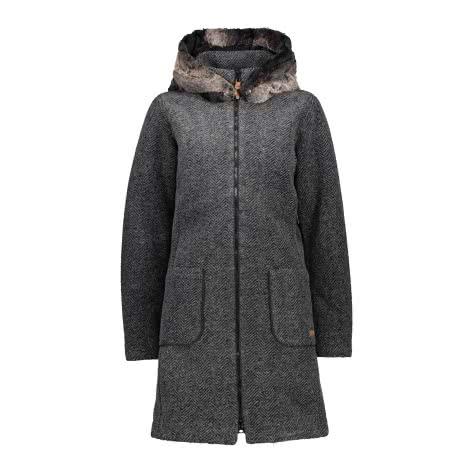 CMP Damen Mantel Woman Coat Fix Hood 30M3396