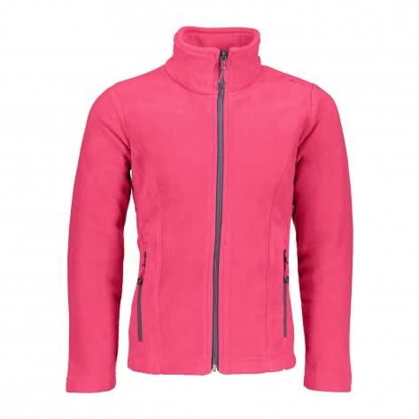 CMP Mädchen Fleecejacke Girl Fleece Jacket 3H14615 Magenta Größe 110,116,128