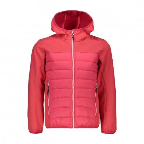 CMP Mädchen Jacke Girl Jacket Fix Hood Hybrid 38A2035 CORALLO Größe 104,110,116,128,140,152