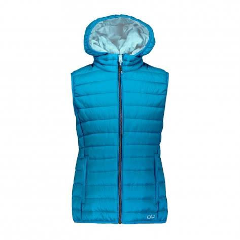 CMP Mädchen Weste Girl Vest Zip Hood 39Z5065-L609 104 Curacao | 104