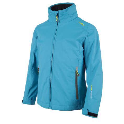 CMP Mädchen Jacke Twill Fix Hood 3 in 1 Jacket 3Z31145D Sea Blue Größe 116
