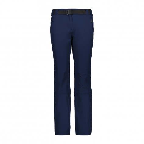 CMP Damen Hose Stretch Long Pant Zip Off 3T51346CF