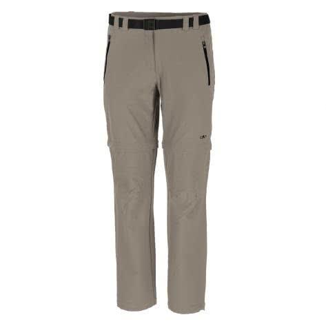 CMP Damen Hose Woman Stretch Long Pant Zip Off 3T51446